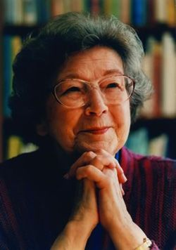 """Beverly Cleary at 95!   """"....children...feel deeply about things that adults can dismiss."""""""