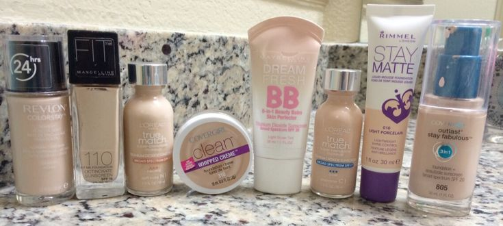 best drugstore foundations for fair and oily skin