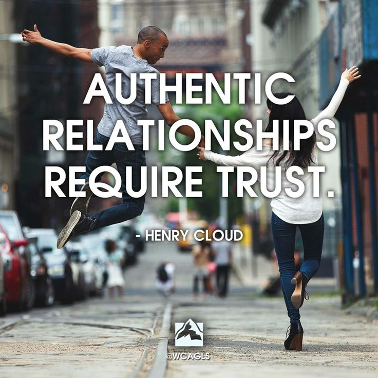 "The Global Leadership Summit ""Authentic relationships require trust."" - Henry Cloud"