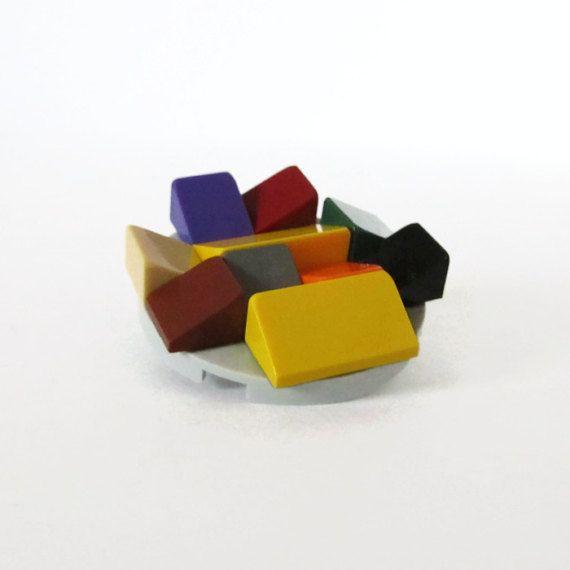 LEGO® Brooch-Geeky Pin-Funny Brooch-From LEGO® by ThinkBricks