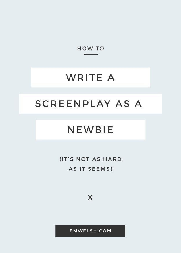 1606 best Screenwriting Tips images on Pinterest Handwriting - screenplay template