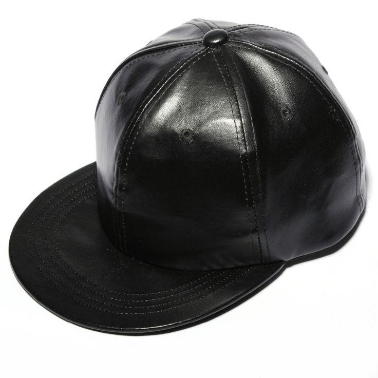 Aliexpress.com: Comprar Nuevo cuero Artificial negro exterior sol salacot Hiphop hombres mujeres causales de baile de los sombreros viseras Snapback gorras de béisbol de sombrero tocados fiable proveedores en Love Shoes Home