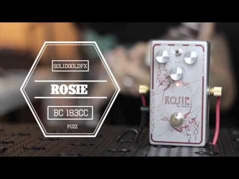 SolidGoldFX Custom Shop Rosie BC183CS - Feat. R.J. Ronquillo