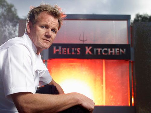 "Interview with Chef Gordon Ramsay of hit TV show ""Hell's Kitchen"" 