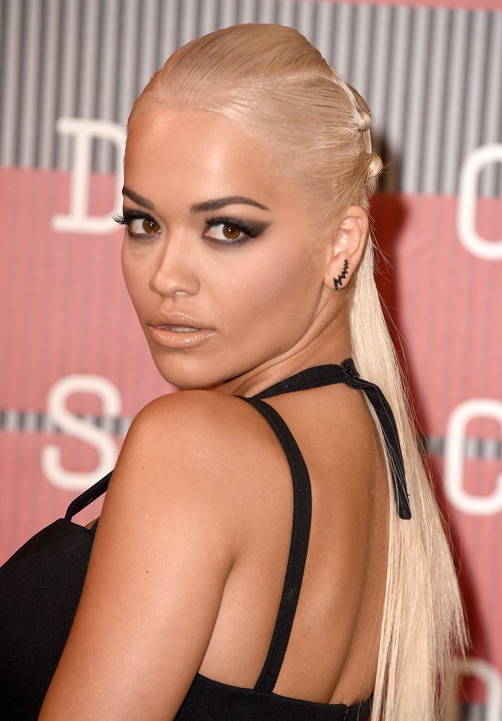 Pin for Later: You Have to See Rita Ora's Gorgeous VMAs Hairstyle From the Back Rita Ora at the 2015 MTV VMAs