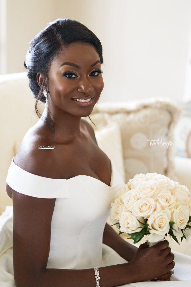 How To Get A Natural Bridal Glam Look By Joy Adenuga Black