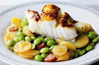 Antony Worrall Thompson's spiced cod and beans recipe - goodtoknow