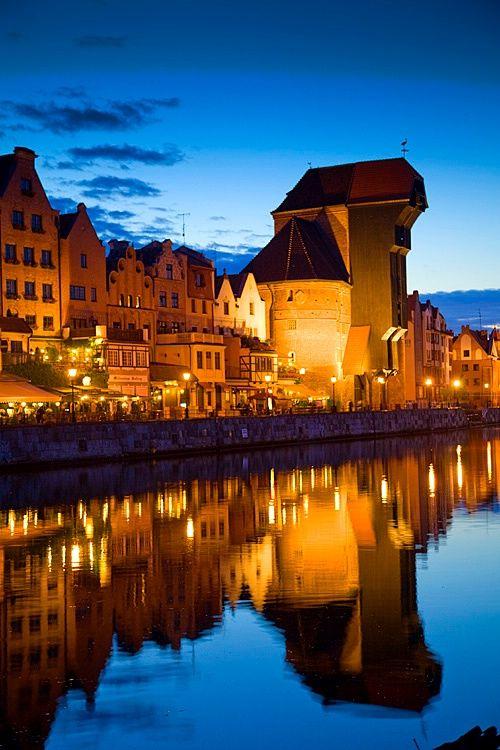 The Waterfront in Gdansk,Poland.by,Jim  Zuckerman