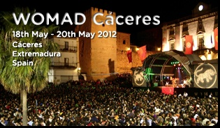 Womad Cáceres. Free World Music Festival in Spain