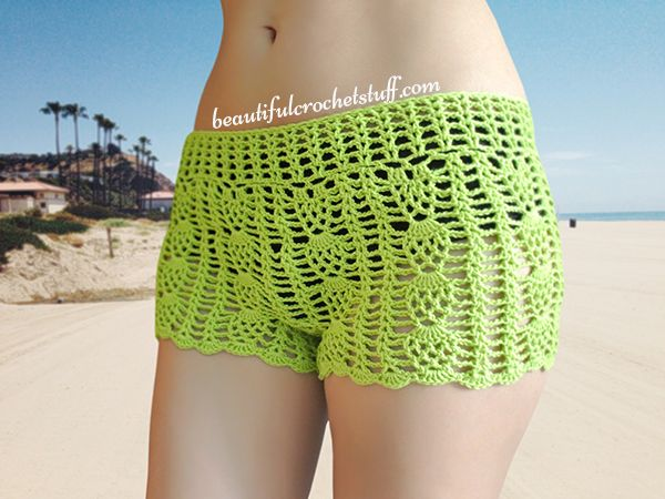 Top 25  best Crochet shorts pattern ideas on Pinterest | Women's ...