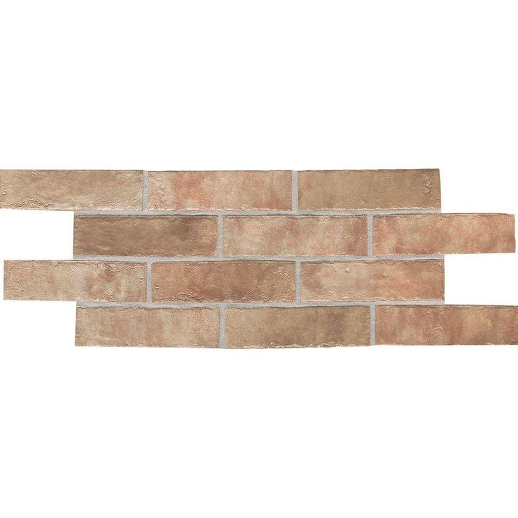 Daltile Union Square Heirloom Rose 4 X 8 Ceramic Paver Floor And Wall Tile 8 Sq Ft Case