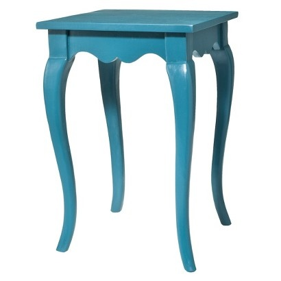 Target - accent table as shown in Country Living.  Want 2 so can use as end tables or next to each other as a coffee table.