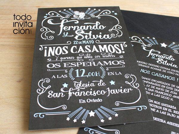 invitaciones de boda en espanol - Google Search
