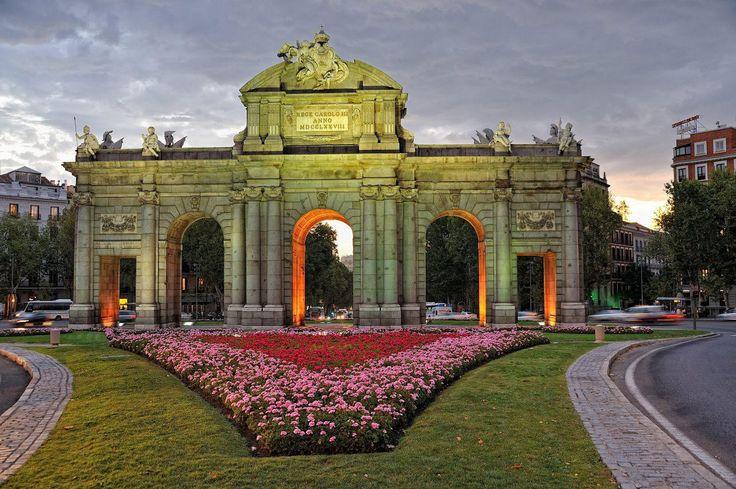 Puerta de Alcalá. jmcalvos arquitectura