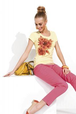 Блузка Sunny, светло-желтый/019 Фирма производитель: ZAPS Страна производитель: Польша  Артикул: Sunny Размер: 42-54 Состав: 95% вискоза, 5% эластан