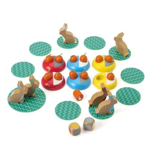 Jeu de société Cache-cache lapins Oxybul pour enfant de 4 ans à 7 ans - Oxybul éveil et jeux
