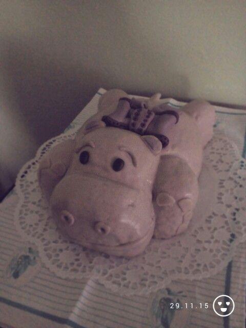 Barca Hippo cake - 2,8 kg