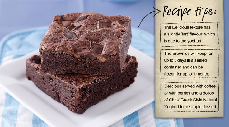 Yes please! Chris' Gluten Free Chocolate Brownies.  http://www.chrisdips.com.au/recipes/1458-gluten-free-chocolate-brownies-recipe