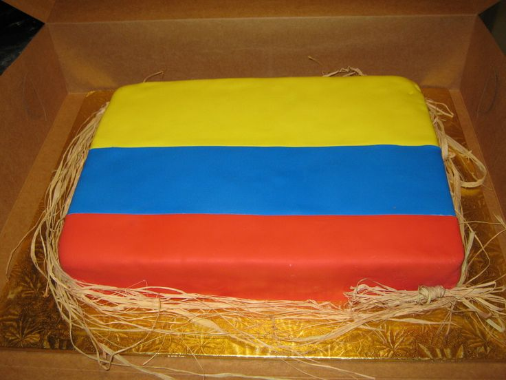 Colombian Flag — Birthday Cakes