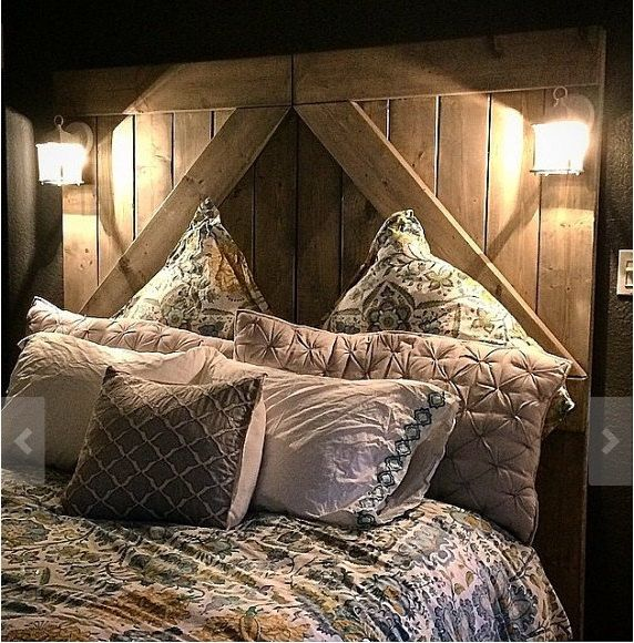 Best 25 Rustic Headboards Ideas On Pinterest Rustic