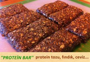 Fit bir vücuda sahip olmak istiyorsanız, protein bar yapımı için kağıt ve kalemleri hazırlayın.