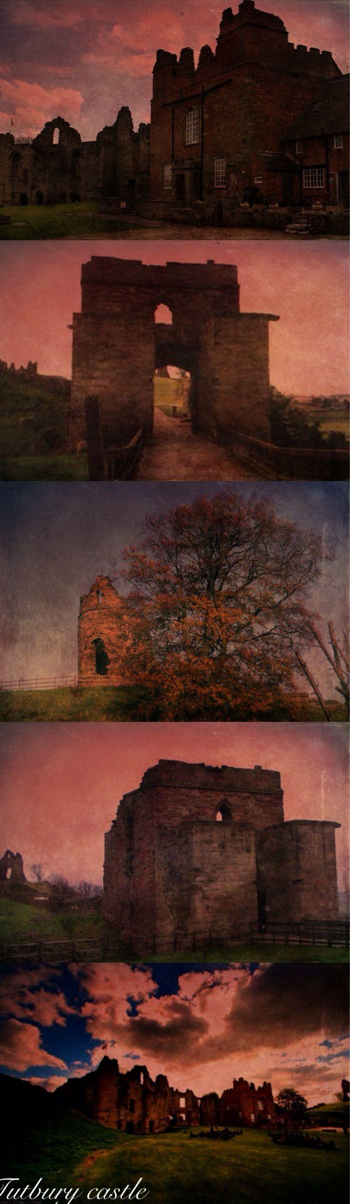 England Tutbury Castle Mary Queen Of Scots Haunts The