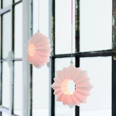 Stella hanging tea light holder by Kahler