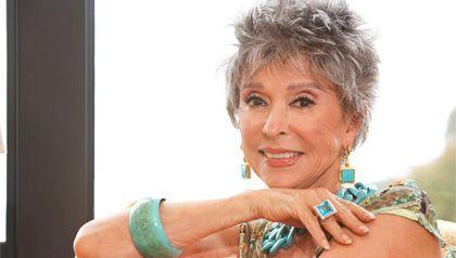 Rita Moreno, una ganadora de los premios Oscar, Emmy, Tony y Grammy.
