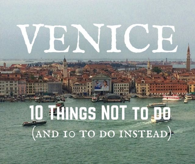 Alternative Venice sightseeing - want to know what to do in Venice and how to see the sights without the crowds, try these 10 best things to do in Venice.
