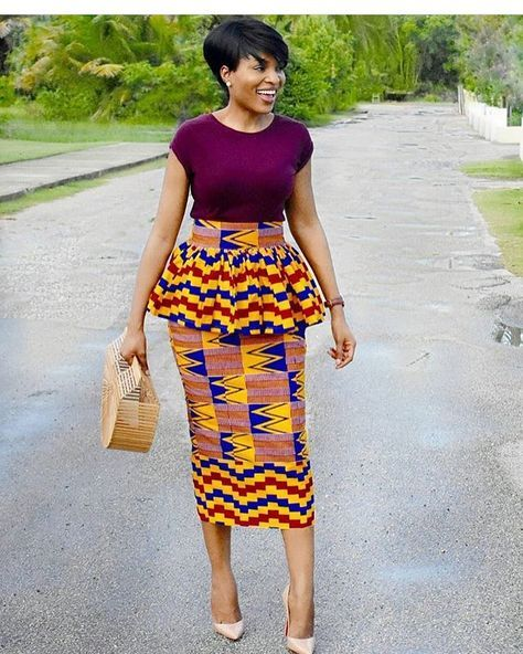 This skirt is a show stopper