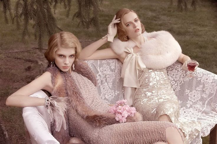 Gatsby-esque.The Great Gatsby, Every Girls, Thegreatgatsby, Vintage Glamour, Style Inspiration, Art Deco Fashion, Fur, Gardens Parties, Vintage Rose