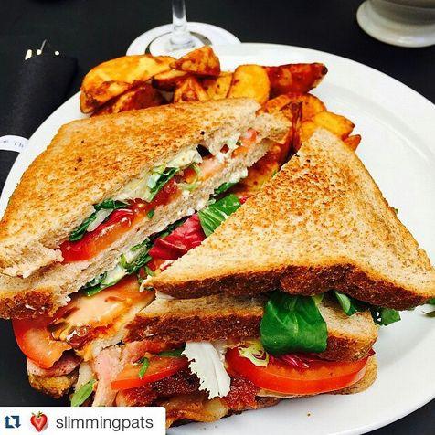 "Enjoy a #snack break at The Queens Gate Hotel! Photo credit: ""slimmingpats"" via Instagram.  #yummy #sandwich #London #hotel  http://bit.ly/1Aep6k9"