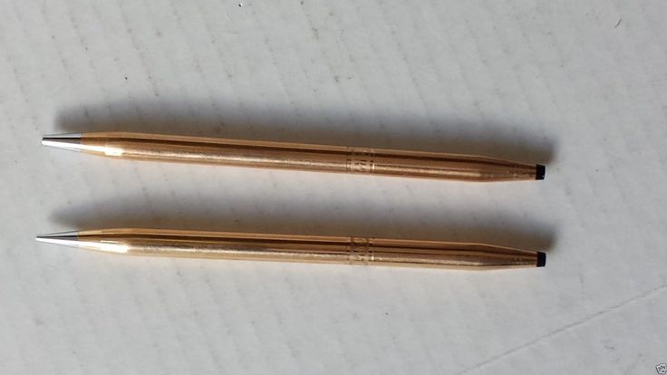 #CROSS Classic 14 kt gold filled women Style Ballpoint Pen and Pencil set visit our ebay store at  http://stores.ebay.com/esquirestore