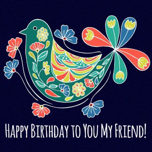 Resultado de imagem para happy birthday my friend