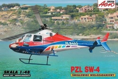 PZL SW-4. Aeroplast, 1/48, rebox 2012 (ex Aeroplast 2012 No.90033, changed decals only), No.90034. Price: 15,29 GBP (marketplace).