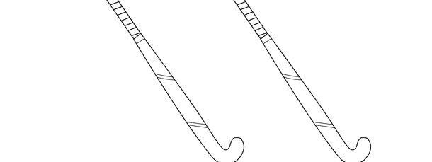 Field Hockey Stick Template Medium Field Hockey Sticks Field Hockey Hockey