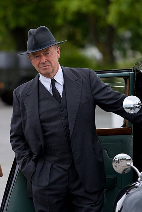 Foyle's War. 2002-2007. D.C.S. Foyle - my all-time favorite detective character - in his impeccable suit.