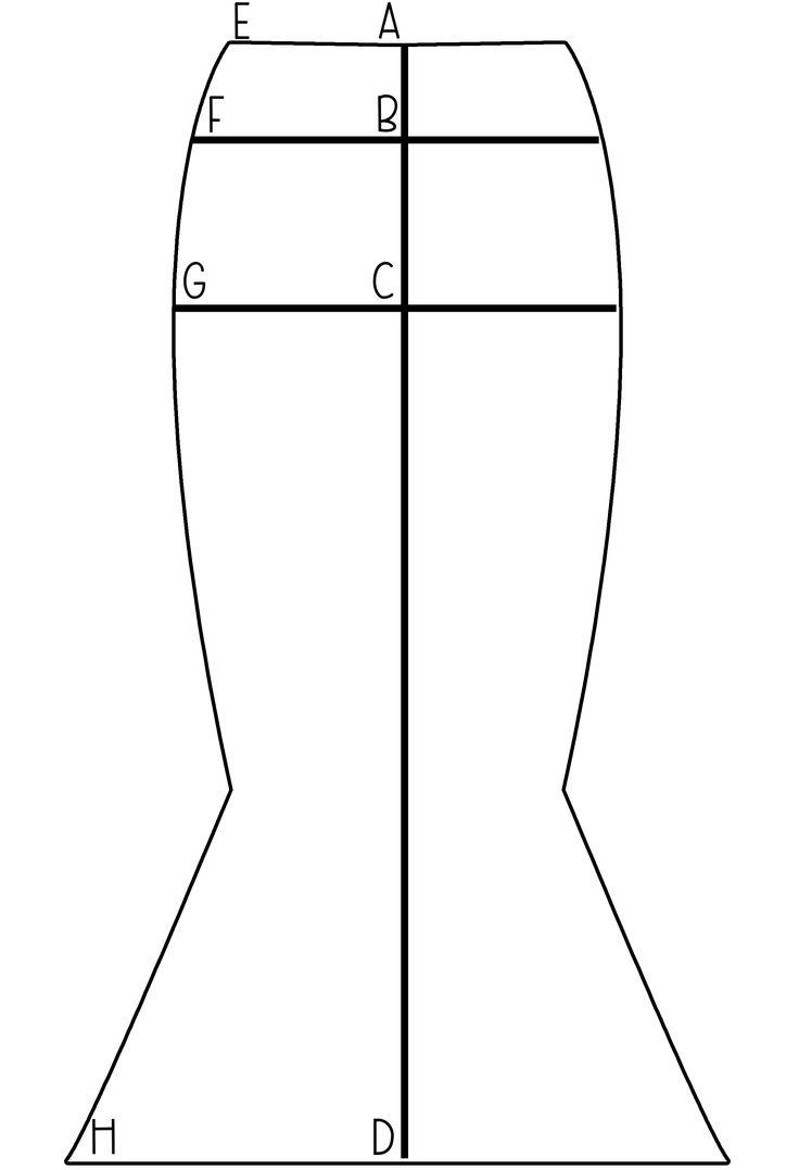 Mermaid Maxi pattern