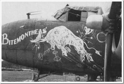 B-25 nose art                                                                                                                                                                                 More