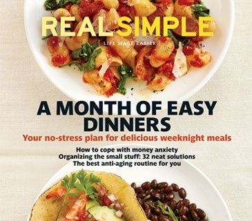 Real Simple Magazine:  Actually could go in EVERY one of my boards