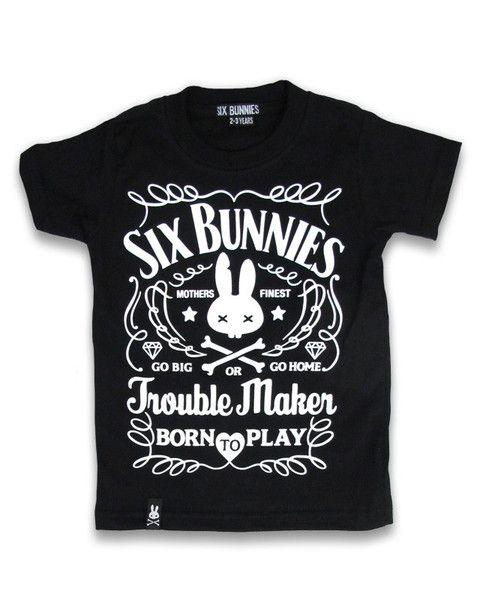 Tričko Six Bunnies - Troublemaker