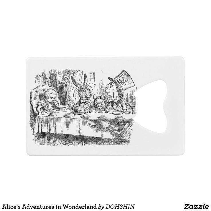 Alice's Adventures in Wonderland クレジットカード ボトルオープナー
