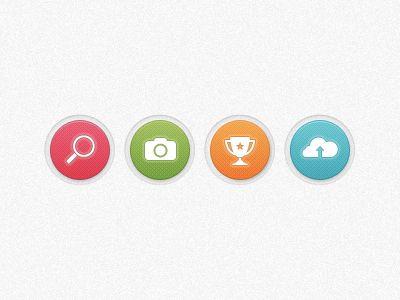 Widget buttons by Alex Boamfa
