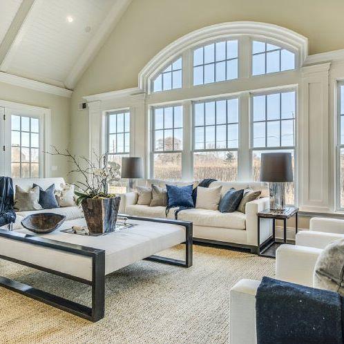 Stunning Home In Bridgehamptonlove The Window Selection For The Prepossessing No Furniture Living Room Inspiration