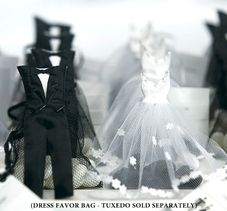 Dress Favour Bag http://www.aussieweddingshop.com.au/Product/147/dress-favour-bag