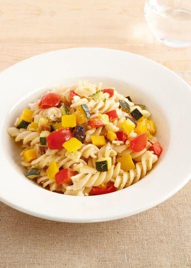 たっぷり野菜のショートパスタ のレシピ・作り方 │ABCクッキングスタジオのレシピ | 料理教室・スクールならABCクッキングスタジオ