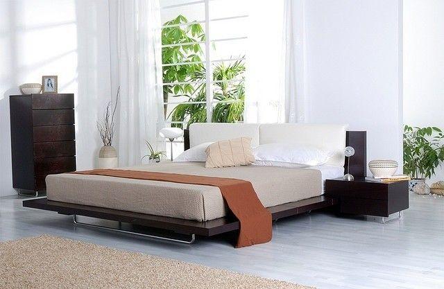 camera da letto legno scuro - Cerca con Google