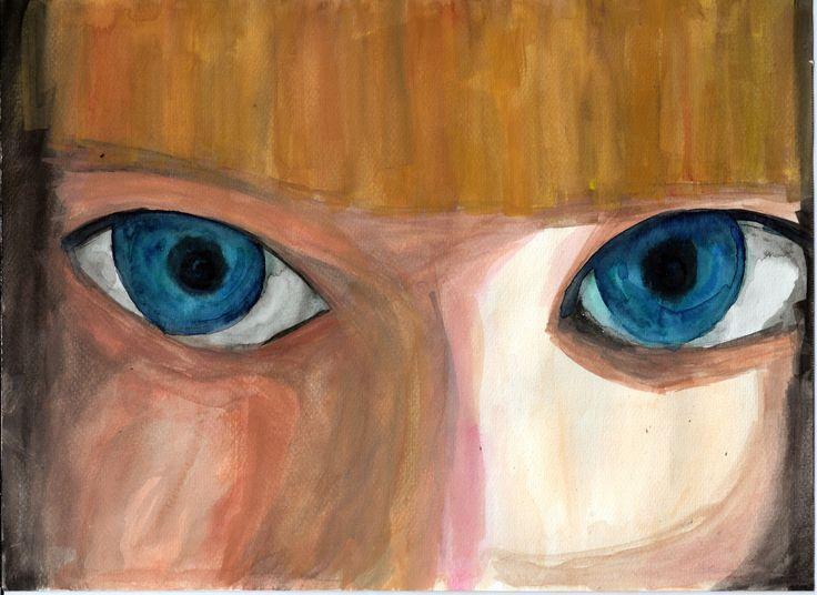 Random N°30 . . . . #art #illustration #drawing #draw #eyes #share #artist #sketch #sketchbook #paper #pen #artsy #instaart #instagood #gallery #paperdark #creative #watercolor #extraordinary #madness #darkness #artoftheday #randomworld #girl #handmade #colour