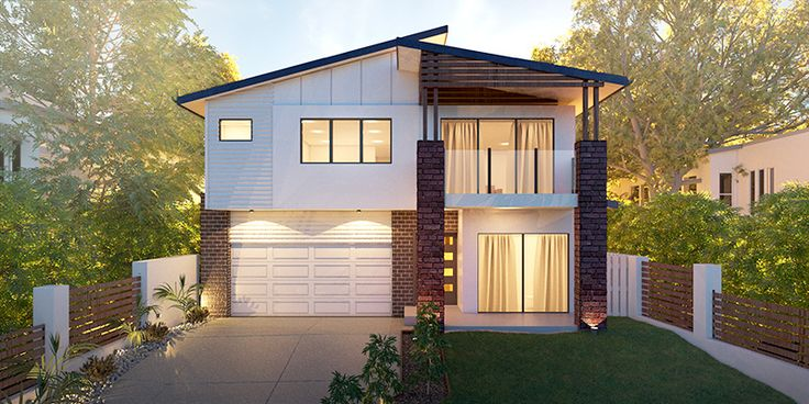 Sunset - Small Lot House Floorplan by http://www.buildingbuddy.com.au/home-designs-main/small-lot-house-plans/