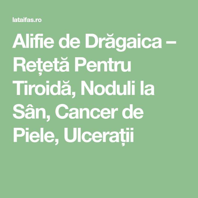 Alifie de Drăgaica – Rețetă Pentru Tiroidă, Noduli la Sân, Cancer de Piele, Ulcerații